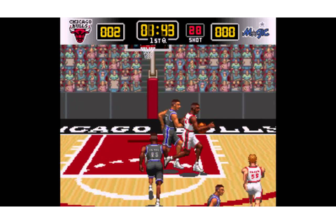 NBA Give n Go Intro (SNES Introduction) - YouTube