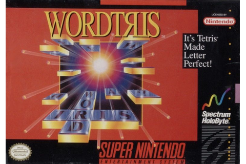 Wordtris for DOS (1991) - MobyGames