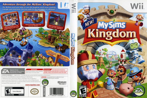 Games Covers: My Sims - Kingdom - Wii