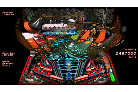 Full Tilt! 2 Pinball - 03 - Mad Scientist - YouTube