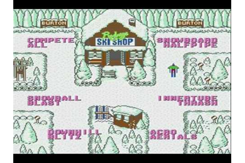 Ski Or Die Game Review (Nes) - YouTube