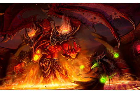World Of Warcraft, Demon, Artwork, Video Games, Kiljaeden ...