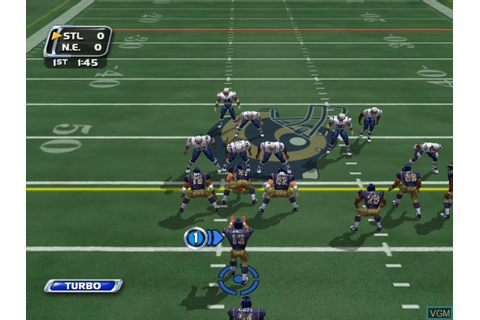 NFL Blitz 20-03 for Microsoft Xbox - The Video Games Museum