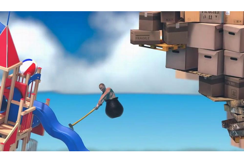 Getting Over It with Bennett Foddy – Full Map of Mountain ...