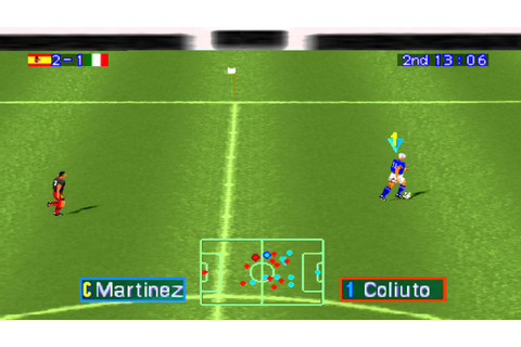 International Superstar Soccer Pro Gameplay (PSX,PsOne ...