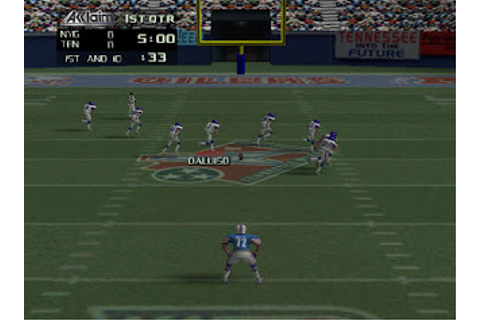 0502 NFL Quarterback Club 99 (USA) ROM | N64ROMsSociety ...