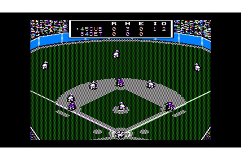 MicroLeague Baseball for the Apple II - YouTube