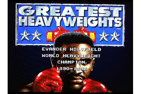 Greatest Heavyweights (Sega Genesis) - RetroStadium Ep.16 ...