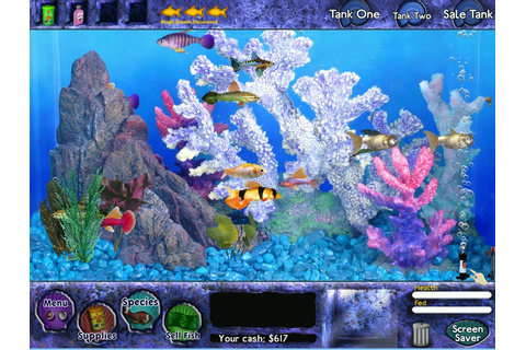 fish tycoon game something s fishy a series of ocean based ...