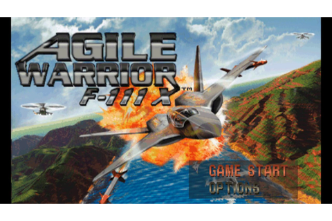 Game 22 - Agile Warrior F-111X - Sony PlayStation ...