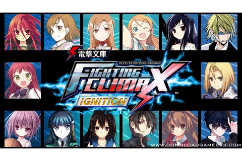 Dengeki Bunko Fighting Climax Ignition - Download game PS3 ...