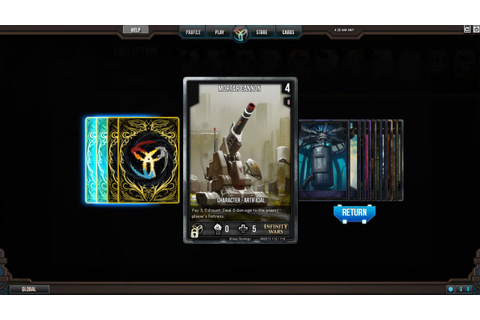 Infinity Wars - Animated Trading Card Game - дата выхода ...