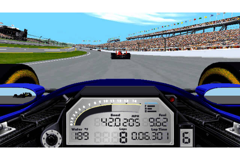 Indycar Racing II - Indianapolis 1995 Practice - YouTube