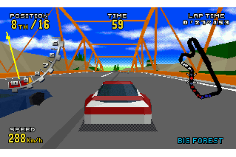 Super Adventures in Gaming: Virtua Racing Deluxe (32X)