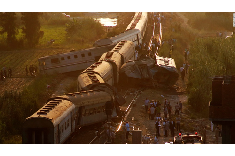 Egypt train crash leaves dozens dead - CNN
