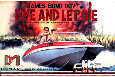 James Bond 007: Live and Let Die (1989) by Domark / Elite ...
