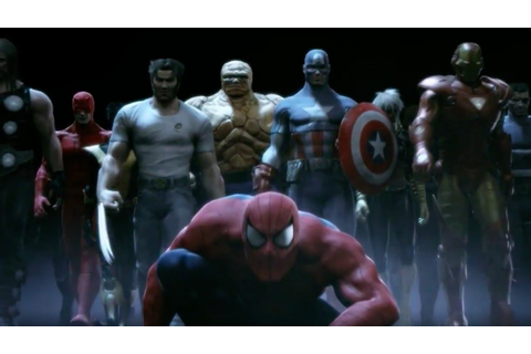 Marvel: Ultimate Alliance Official PS4 and Xbox One ...