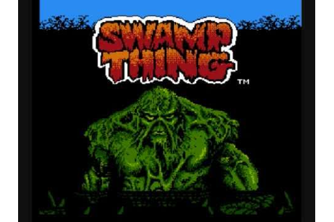 Awful Nintendo Games: Swamp Thing Review - YouTube