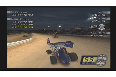 World of Outlaws Sprint Cars 2002 (PS2) - Career Mode EP04 ...