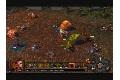 Heroes of Might and Magic V: Tribes of the East gameplay ...