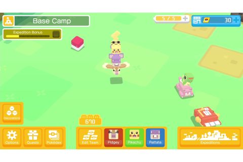 Pokémon Quest is a free-to-start action-RPG for the ...
