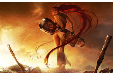 Heavenly Sword Game Post in 1920×1200 Pixel, a Lady All ...
