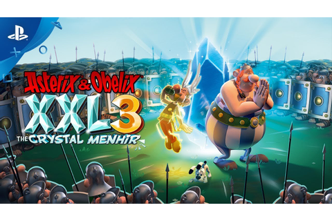 Asterix & Obelix XXL 3 The Crystal Menhir PC Game Download