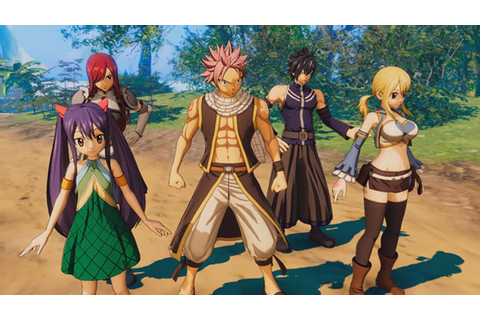 Fairy Tail: Release Date, Gameplay, PS4, Switch, PC ...