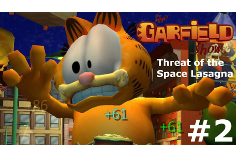 The Garfield Show: Threat of the Space Lasagna Part 2- It ...