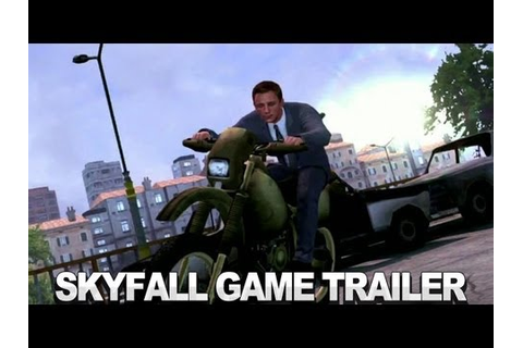 007 Legends Skyfall Game Trailer - YouTube