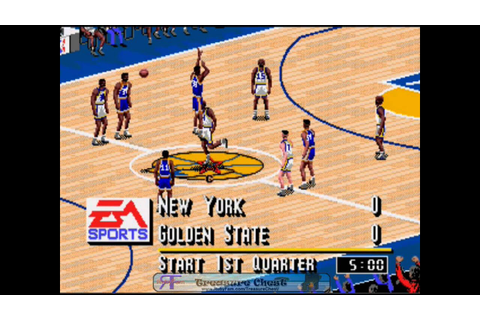 NBA Live 95 - Sega Genesis (1994) - YouTube