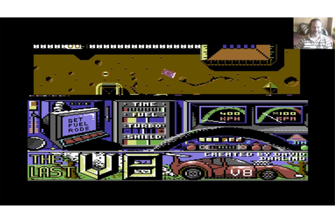 Lukozer Retro Game Review 410 - The Last V8 - Commodore ...