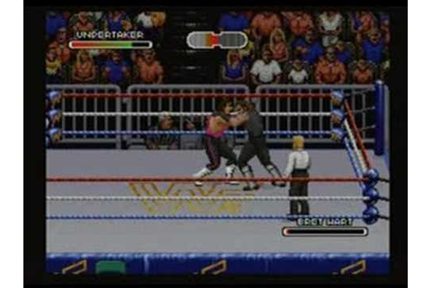 WWF Royal Rumble - Game Play - Super Nintendo - YouTube