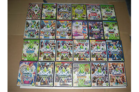 The Sims 3 / Expansion Pack Pc Cd Rom Sims3 Base game ...