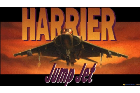 Harrier Jump Jet gameplay (PC Game, 1992) - YouTube