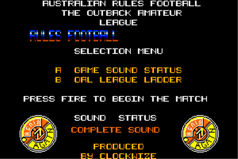 Download Australian Rules Football - My Abandonware