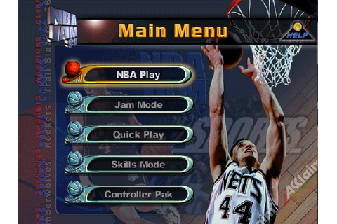 NBA Jam '99 Download Game | GameFabrique
