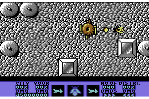 Amaurote (1987) by Binary Design C64 game