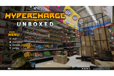 HYPERCHARGE: Unboxed PC Preview | GameWatcher