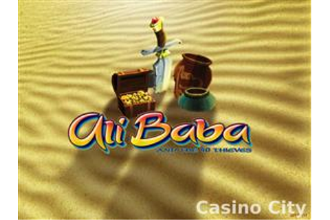 Ali Baba and the 40 Thieves Online Casino Slot Game
