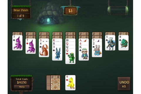 iOS App Review: Faerie Solitaire Mobile Deluxe | appSIZED