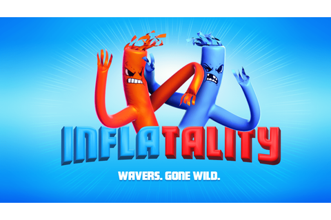 Inflatable Arm-Flailing Tube Men Fighting Game Inflatality ...