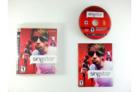 SingStar game for Playstation 3 (Complete) | The Game Guy