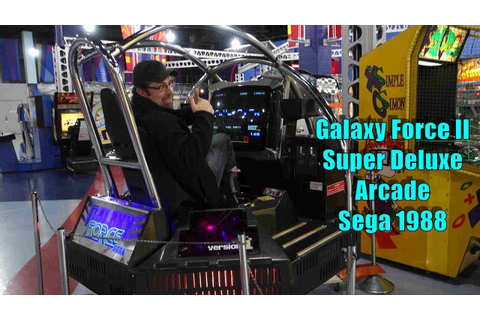 Watch my Friend Mike play Galaxy Force II Super Deluxe ...