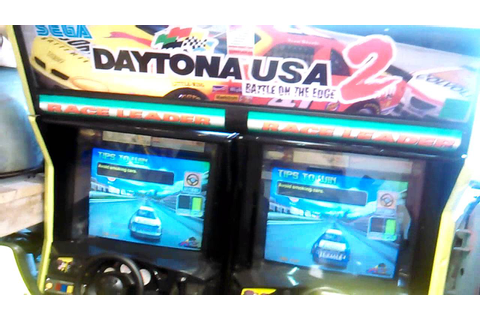 Daytona USA 2 arcade games fs/ft - YouTube