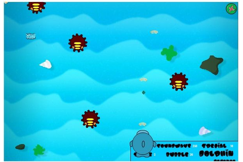 Sqwishlanders: Game of the Month: Dolphin Defence
