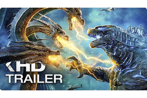 GODZILLA 2: King of the Monsters - 8 Minutes Trailers ...