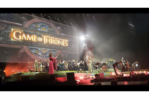 Game of Thrones Live Concert Experience 2018 - YouTube