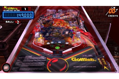 Screens: Gottlieb Pinball Classics - PSP (2 of 23)