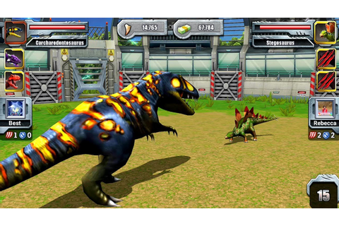 Jurassic Park Builder JURASSIC Tournament Android Gameplay ...